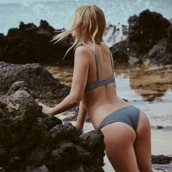 Acacia Cusco Mesh Bikini Bottom