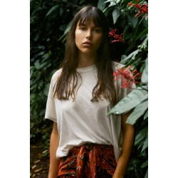 Acacia Nashville Cotton T-Shirt White
