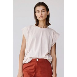 Acacia Pasadena Organic Cotton T-Shirt Bone