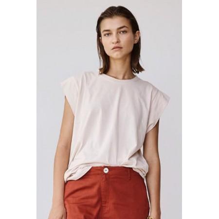 Acacia Pasadena Organic Cotton T-Shirt Bone