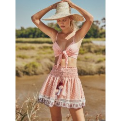 Agua Bendita Palm Springs Heidi Top and Whitney Skirt