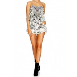 Camilla Wild Belle Shoestring Playsuit