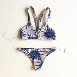 Mikoh Miyako Bikini Bottom Protea Costal Blue