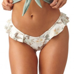 Montce Été Floral Additional Coverage Ruffle Uno Bikini Bottom
