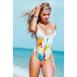 Sauvage Flamingo Tank One Piece