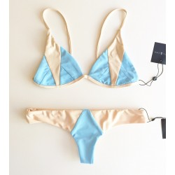 Stone Fox Swim Isla Top and Byron Bottom Sky Naked Block