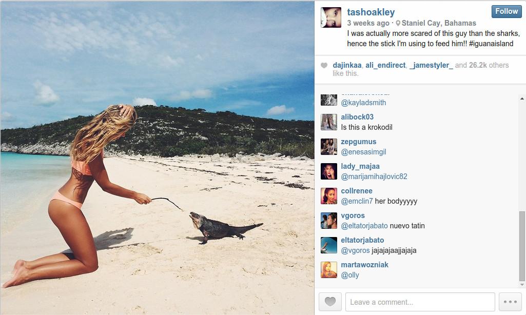 A Bikini A Day - Tash Oakley